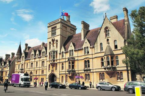 Balliol College hit by flooding