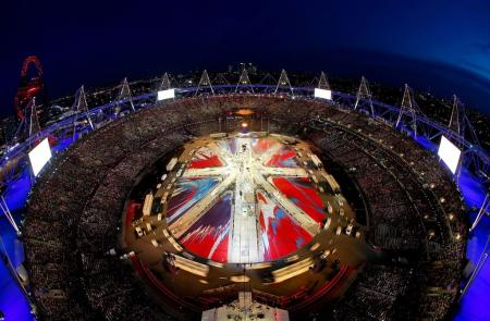 Spectacular: the London 2012 Olympic Closing Ceremony...