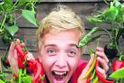 Assistant Freddie Ryan is pictured with some of the chillis