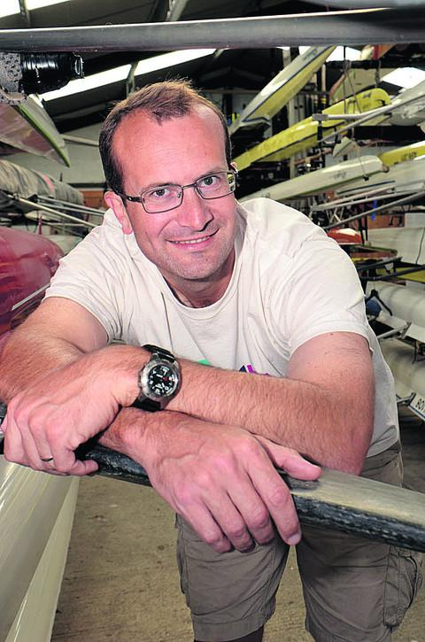 Dan Knowles, a coach at Abingdon Rowing Club,  says more help is needed to cope with demand