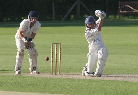 Ed Gross's 56 not out sped Great & Little Tew to victory