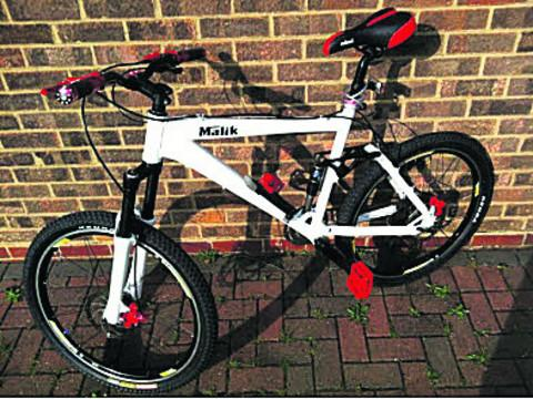 Appeal for stolen bike