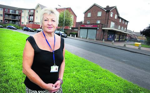 Rose Hill community worker Fran Gardner has noticed improvements