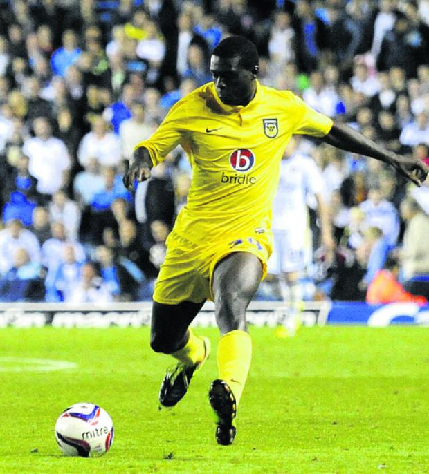 Daniel Boateng made his U's debut on Tuesday
