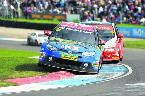 Jason Plato in action