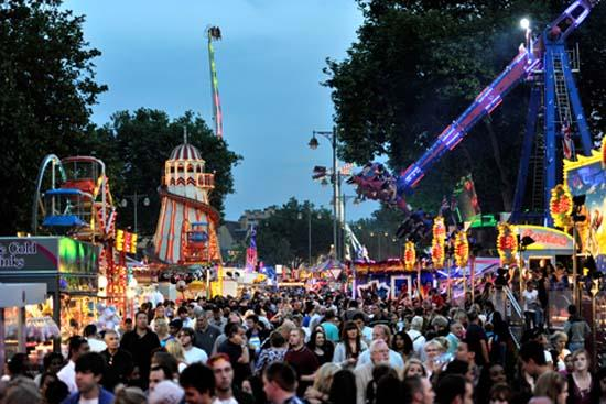Oxford Mail: Image from this years St Giles Fair