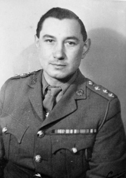 Captain Lawrence Edwin Arthur Holt-Kentwell MBE