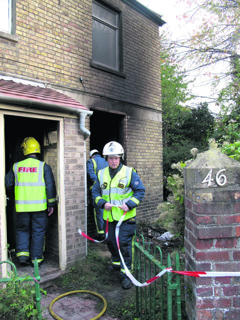 The Abbey Road, Oxford, home was damaged by fire in the arson attack