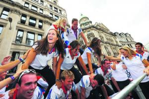 PARALYMPICS: Our rowers' moment to shine on victory parade