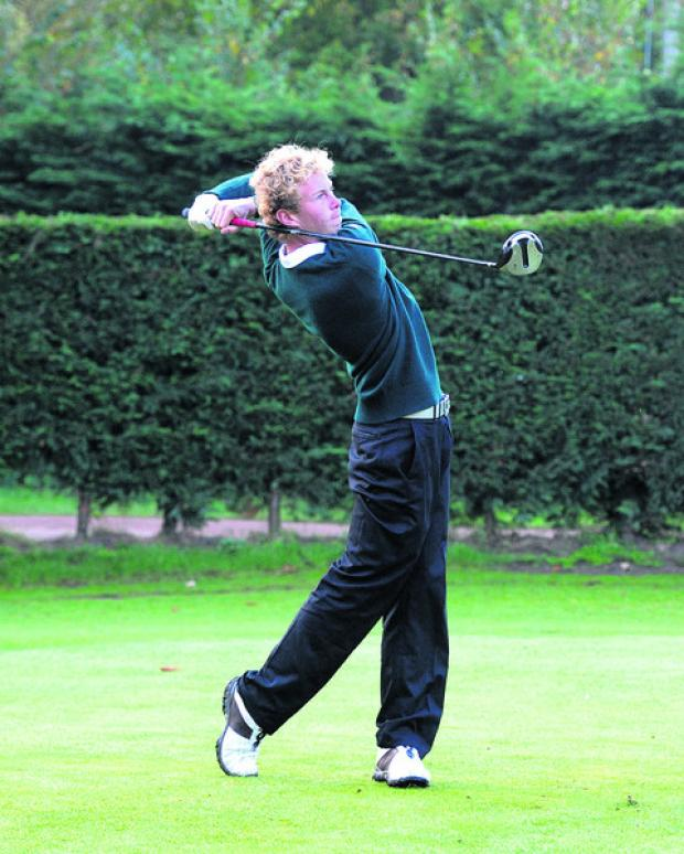 Harry Collins got Frilford Heath off to a flier with a 6 & 5 win alongside Chris Little