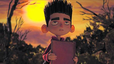 PARANORMAN: 'Pokes fun at the conventions of the horror genre, including one very funny interlude with a vending machine that mocks the zombies' painfully slowshuffle...'