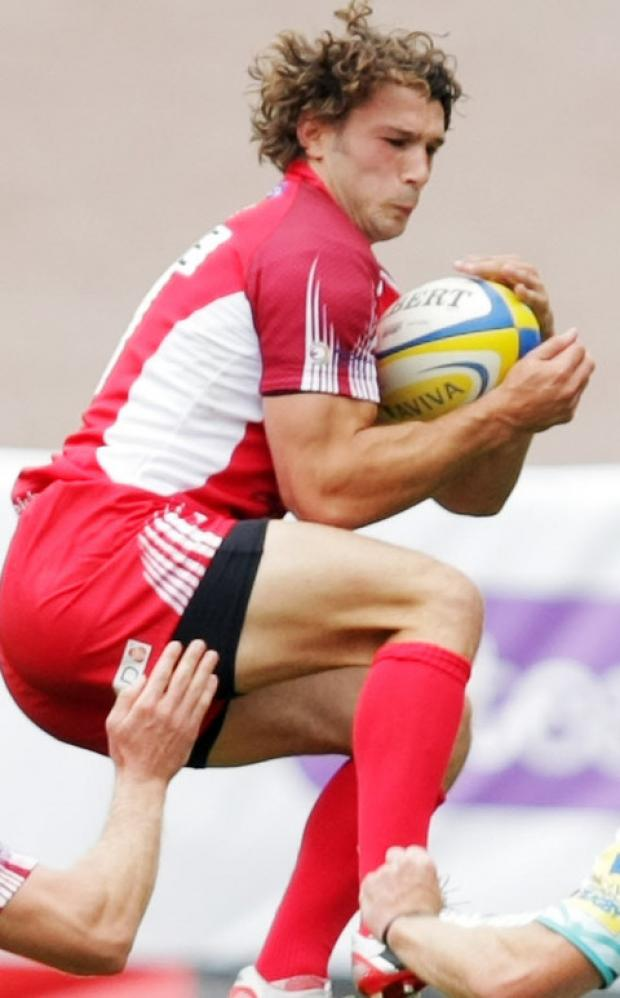 London Welsh full back Tom Arscott could be facing bother Luke, who plays for Exeter