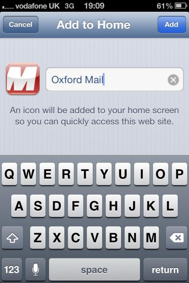 Oxford Mail: om iphone 3