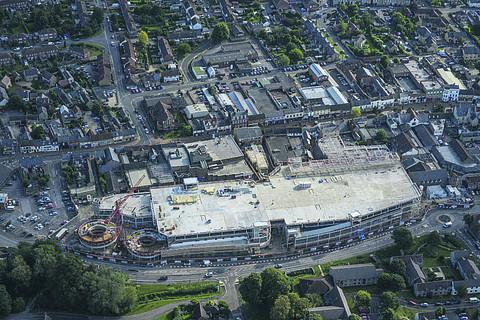The new £70m town centre development
