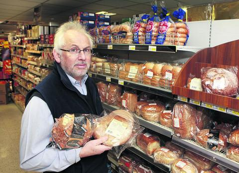 Tony Scott, owner of Budgens in Bampton