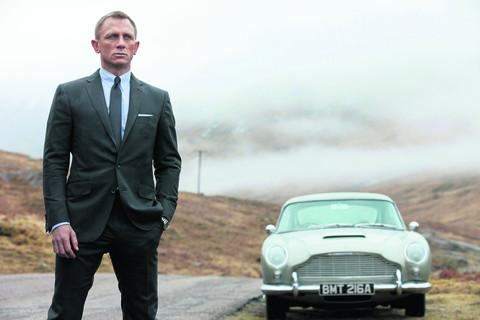 Familiar old friends return alongside Daniel Craig in Skyfall