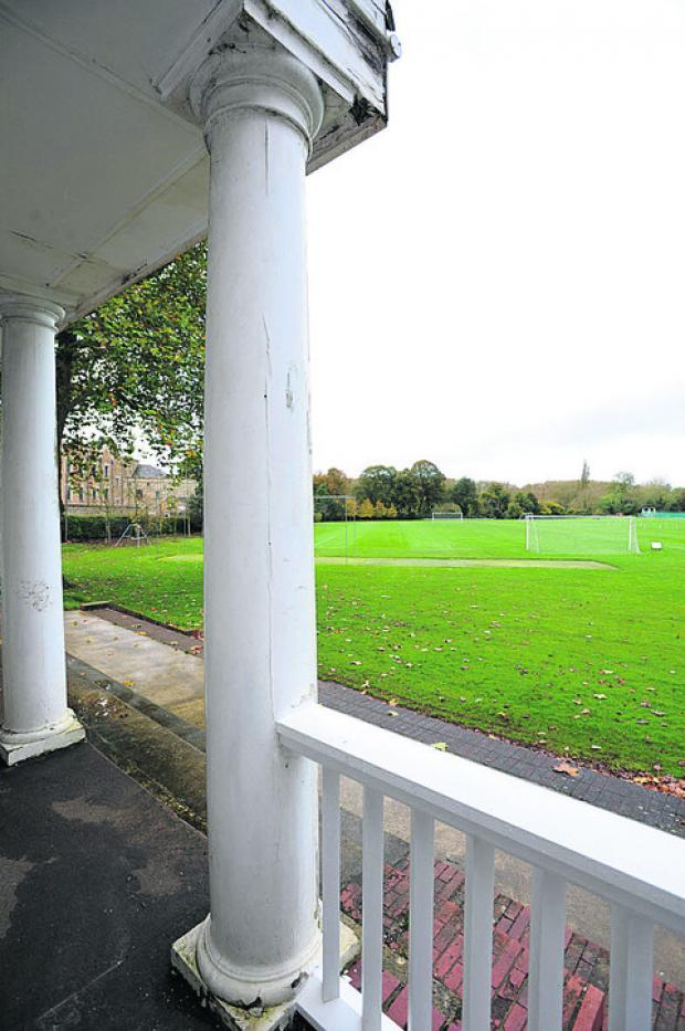The Magdalen College Sports Ground off Marston Road
