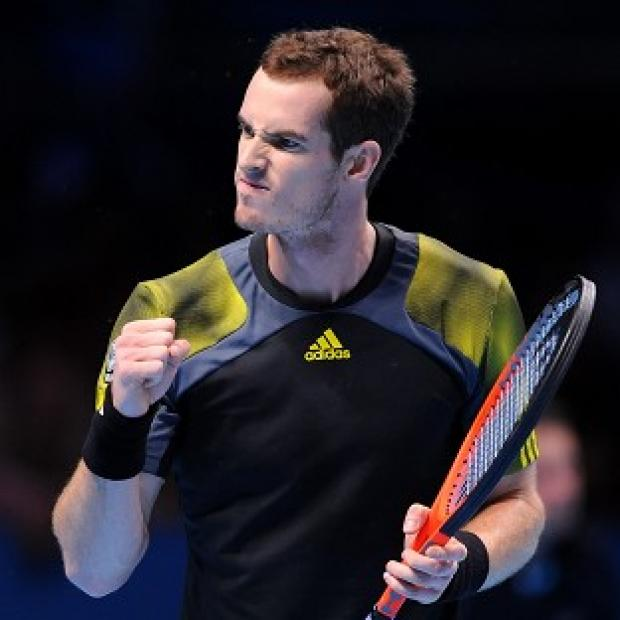 Andy Murray, pictured, was unaware he only needed to win a set in his victory over Jo-Wilfried Tsonga to reach the semi-finals