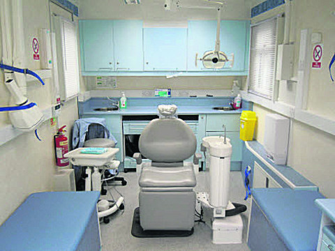 Bring on the tooth fairies - with the free dentist bus