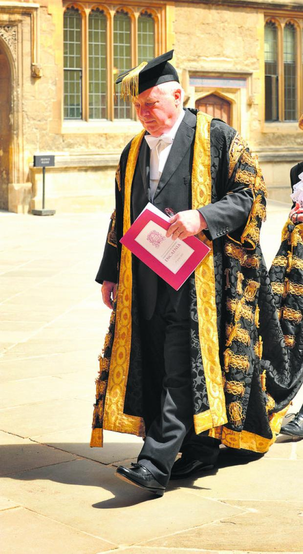 Oxford University Chancellor Lord Patten