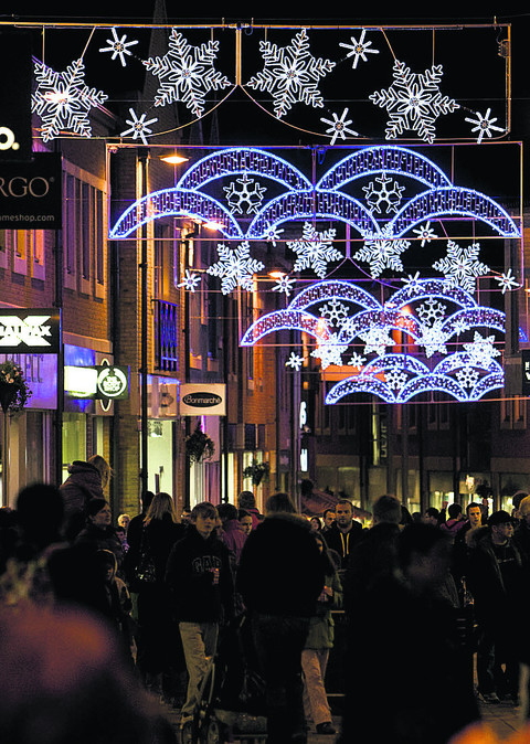 Blasts from past for Didcot's festive fair