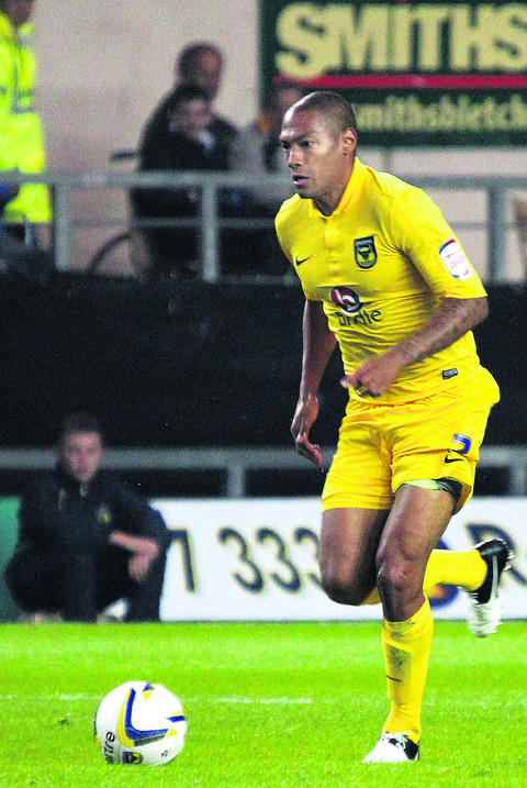 Damian Batt joined Oxford United in January 2009