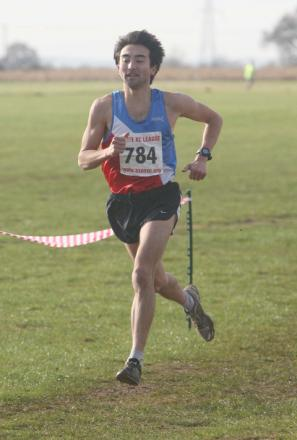 Oxford City's David Bruce cruises to victory in the second round of the Oxford mail Cross Country
