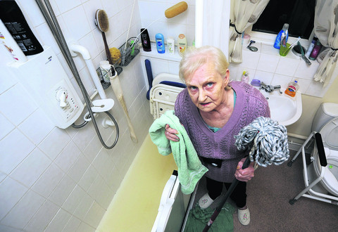 Joyce Pottinger, 75, from Cowley, says she has suffered from ill health as a result of exposure to contaminated waste