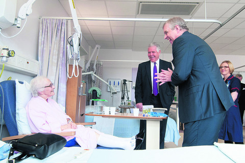 Duke officially opens £109m cancer centre