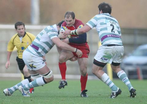 Gordon Ross takes on London Irish last week