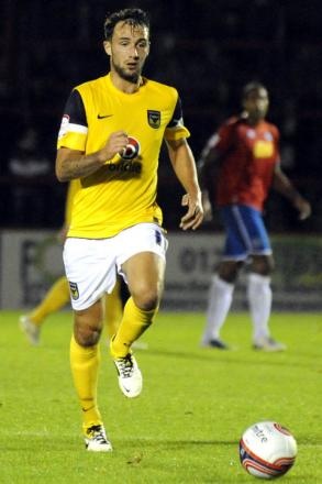 United player Josh Payne now plays for Aldershot