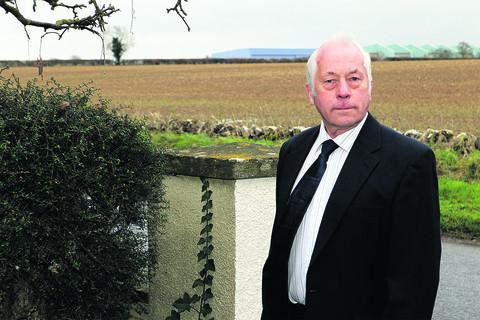 Don Pilbeam has attacked WODC after it turned down his plan to build a house in his back garden but is looking at plans to build 700 homes in the field opposite
