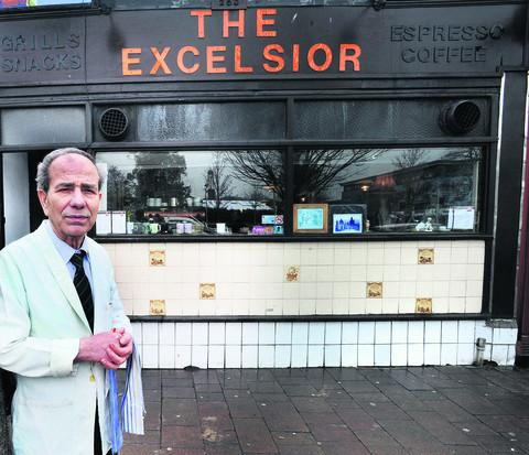 The Excelsior cafe's Kostas Hajiyiani. Picture: OX50315 Richard Cave