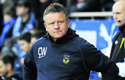 Chris Wilder will be waiting to see if Wednesday's game at Exeter can go ahead