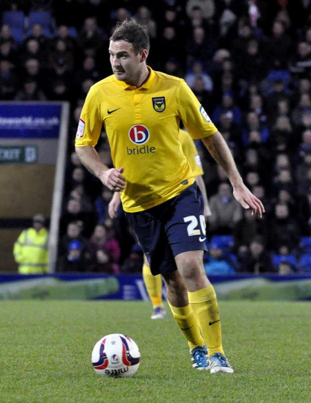 Oxford Mail: Peter Leven is one of several Oxford United players who will have benefitted from no midweek game this week