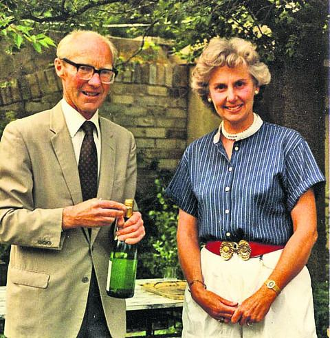 John Heyworth with his wife Susan