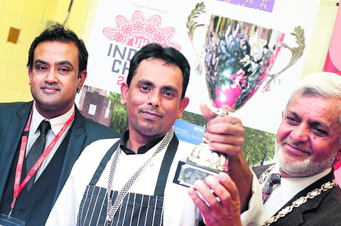 Eynsham chef named King of the Curries