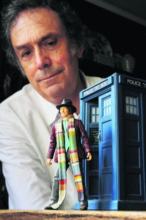 Film production designer Michael Pickwoad has worked on Dr Who as well as films. Picture: OX53578 Jon Lewis