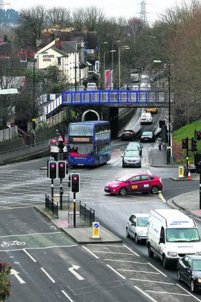 Roadworks near Oxford railway station are expected to cause delays