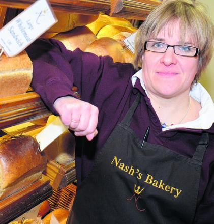 Sarah Penny, from Nash's Bakery