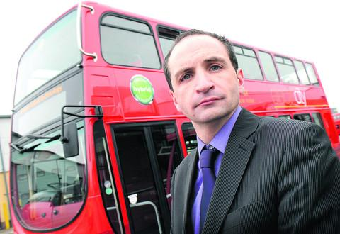 Oxford Bus Company operations director Phil Southall