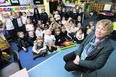 Wheatley Primary School headteacher Joan Morters has agreed to take on an extra 10 pupils at her school