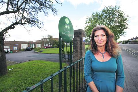 Lynn Knapp, headteacher of Windmill Primary School, which is in consultation to expand