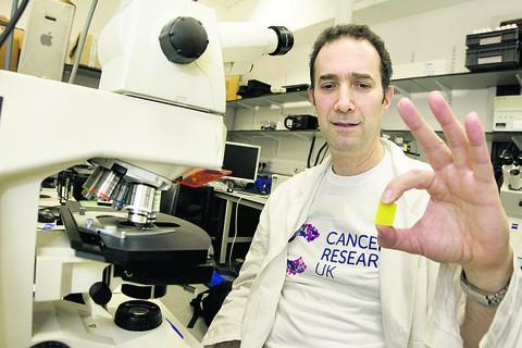 Cancer scientist Prof Jordan Raff