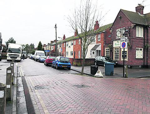 Part of the Magdalen Road (North) CPZ