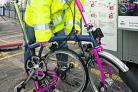 Bike borrowing scheme on track at Oxford train station