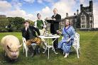 BLANDINGS CASTLE: is packed with laughs and adapts Wodehouse's colourful comic prose for the first time in 50 years""