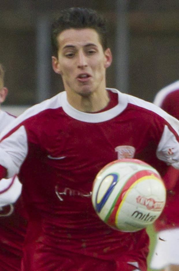 Pablo Haysham is out of Didcot Town's home game with Cinderford Town tomorrow