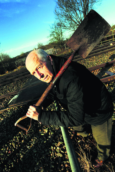 Trap Grounds allotments chairman Tony Hollander