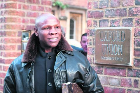 Chris Eubank. Picture: OX57444 Andrew Walmsley